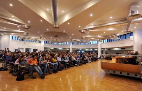 Un'aula universitaria italiana (TIZIANA FABI/AFP/Getty Images)