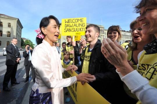 Aung San Suu Kyi sta meglio e continuerà il tour in Europa