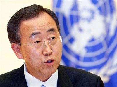Siria: Ban Ki Moon commenta lo stato del piano ONU