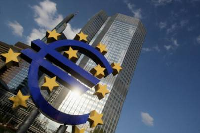 La sede della Banca Centrale Europea a Francoforte (Getty Images)
