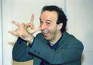"""Benigni """"Vieni via con me"""" Youtube Video. Masi, Berlusconi, Bossi, Sandokan e Ruby"""