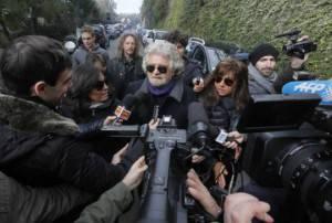Beppe Grillo (Foto: FABIO MUZZI/AFP/Getty Images)