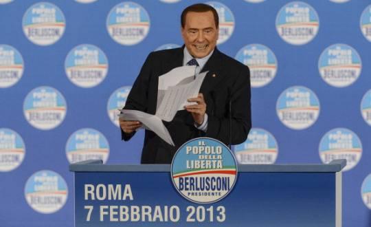 Berlusconi: bloccheremo il Parlamento se il Pd metterà le mani sul Quirinale