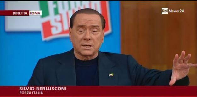 """Berlusconi sogna: """"Vincere con Forza Italia senza alleati"""""""