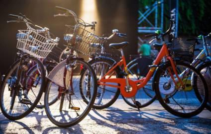 Bici a Venezia (Ian Gavan/Getty Images)