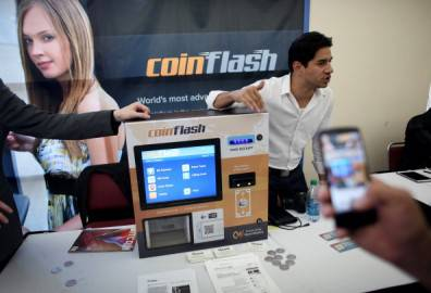 Coinflash Bitcoin ATM (Getty images)