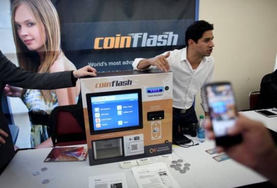 """Installato a Roma il primo """"bancomat"""" di Bitcoin"""