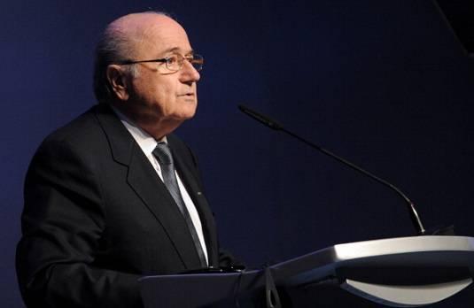 blatter6 Champions League Milan Barcellona 0 0, Blatter: Grande spettacolo, specialmente nel primo tempo