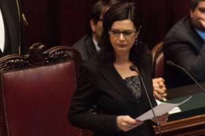 La Presidente della Camera Laura Boldrini (Foto: Giorgio Cosulich/Getty Images)