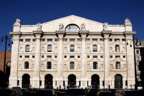 Palazzo Mezzanotte, sede della Borsa di Milano (Getty Images)