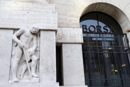 La sede della Borsa di Milano (Getty Images)