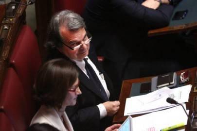 Il capogruppo alla Camera di Forza Italia, Renato Brunetta (Foto: Franco Origlia/Getty Images)