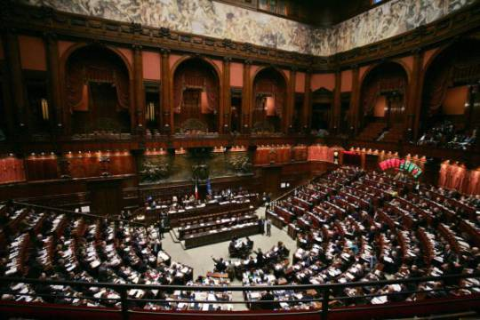 L'Aula della Camera dei Deputati (Foto: ANDREAS SOLARO/AFP/Getty Images)