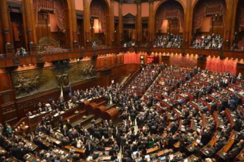La Camera dei Deputati (Foto: ALBERTO PIZZOLI/AFP/Getty Images)