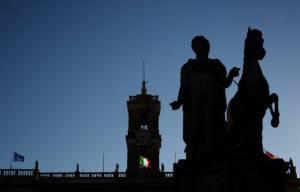 Piazza del Campidoglio, Roma (VINCENZO PINTO/AFP/Getty Images)