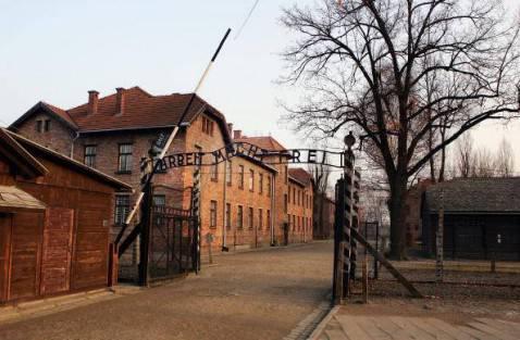 Il campo di concentramento di Auschwitz (Scott Barbour/Getty Images)