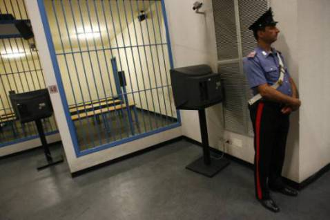 Carcere (MARCELLO PATERNOSTRO/AFP/Getty Images)