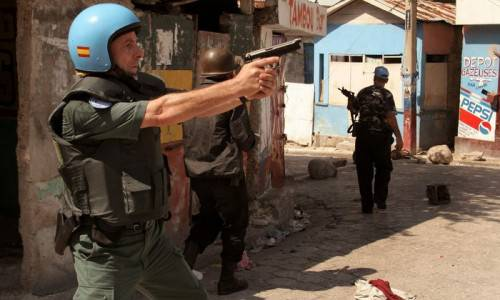 Colera ad Haiti, caschi blu dell'Onu uccidono due persone durante scontri