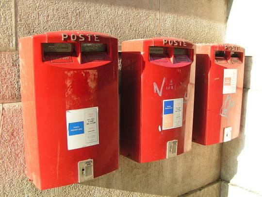 Cassette della posta (Foto Wikicommons, di Simone Ramella. Licenza: cc-by-2.0)