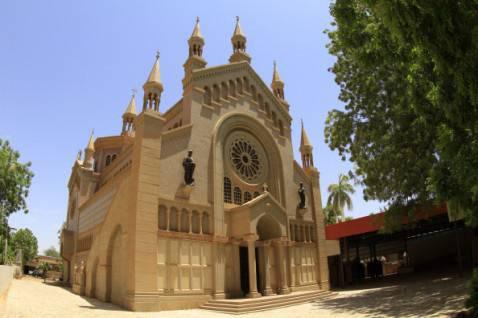 Chiesa cristiana a Khartoum, in Sudan (ASHRAF SHAZLY/AFP/Getty Images)