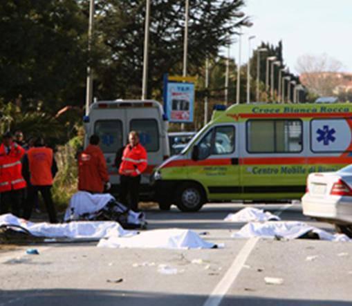 Strage ciclisti a Lamezia Terme: domani il funerale collettivo