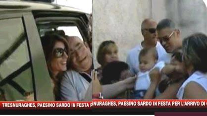 GEORGE CLOONEY / Elisabetta Canalis, l'attore fa visita alla famiglia della compagna in Sardegna