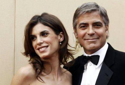 Rottura Canalis-Clooney: Elisabetta a Positano con un ex, George fa mea culpa