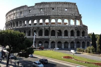 Colosseo, Roma (Getty images)