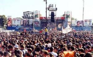 Immagini del concerto del primo maggio