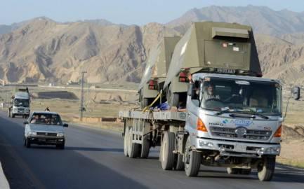 Convoglio Nato, Pakistan (Getty images)