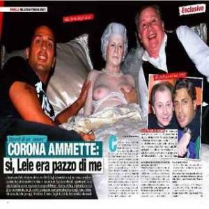"FABRIZO CORONA / Novella 2000, l'ex paparazzo dichiara: ""Lele Mora era pazzo di me"""