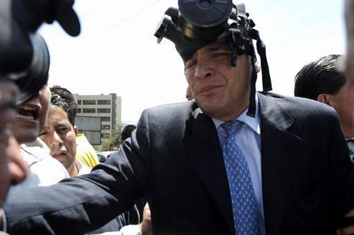 Il presidente dell'Ecuador Rafael Correa