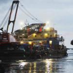 Costa Concordia: svuotato il primo serbatoio di prua