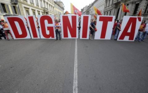 Manifestazione per il lavoro (Foto: DAMIEN MEYER/AFP/Getty Images)