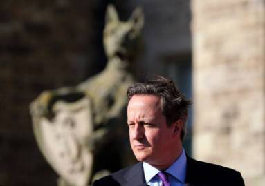 Premier britannico David Cameron (Getty images)