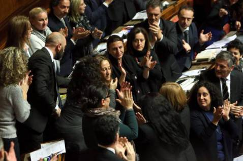 5 Stelle in Aula (Franco Origlia/Getty Images)