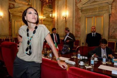 Nunzia De Girolamo (ANDREAS SOLARO/AFP/Getty Images)