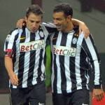 Juventus-Bari: se si ferma anche Del Piero, bianconeri senza attaccanti