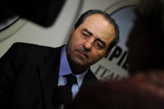 Antonio Di Pietro: in Italia non c'è la volontà di combattere la corruzione