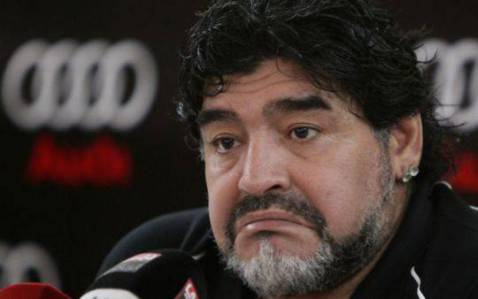 "مارادونا :"" باييرن ميونيخ سيهزم ريال مدريد "" diego-maradona-20121"