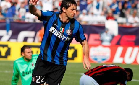 """Catania – Inter, Milito: """"Grande vittoria, sto ritrovando la forma"""""""