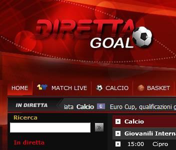 Direttagoal It Il Sito Seguire In Diretta Live Tutti Gli Eventi Di Sport Calcio Formula Uno