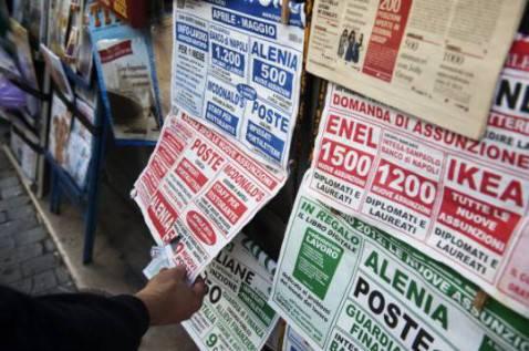 Annunci di lavoro in Italia (Foto: CONTROLUCE/AFP/GettyImages)