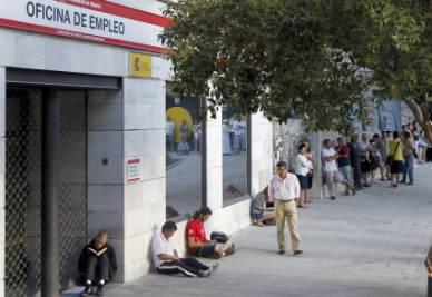 Crisi in Spagna: il tasso di disoccupazione supera il 20%