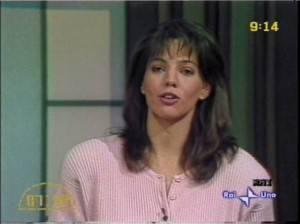 Elisabetta Gardini (screenshot Rai)