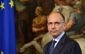 Il Presidente del Consiglio Enrico Letta (ALBERTO PIZZOLI/AFP/Getty Images)