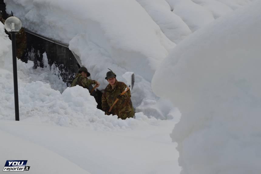 Neve record nel bellunese:  fotogallery