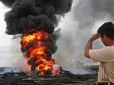 Esplosione gasdotto