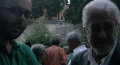 Matteo Fantozzi ed Ettore Scola