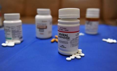 Farmaci antiretrovirali (ADEK BERRY/AFP/Getty Images)